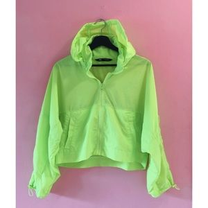 💥3 for $20💥 Zara Cropped Neon Party Zip